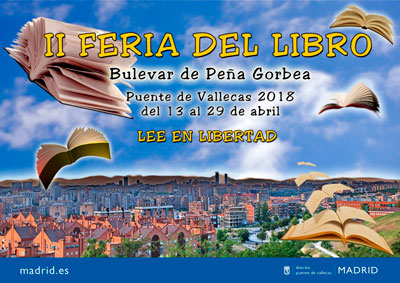 II FERIA DEL LIBRO DE VALLECAS (MADRID)